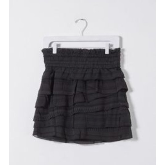 ce42542281c85 IRO Skirts | Delia Ruffle Skirt | Poshmark